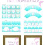 Freebies | Printables | Mermaid Party Decorations, Mermaid Birthday   Free Printable Mermaid Thank You Cards