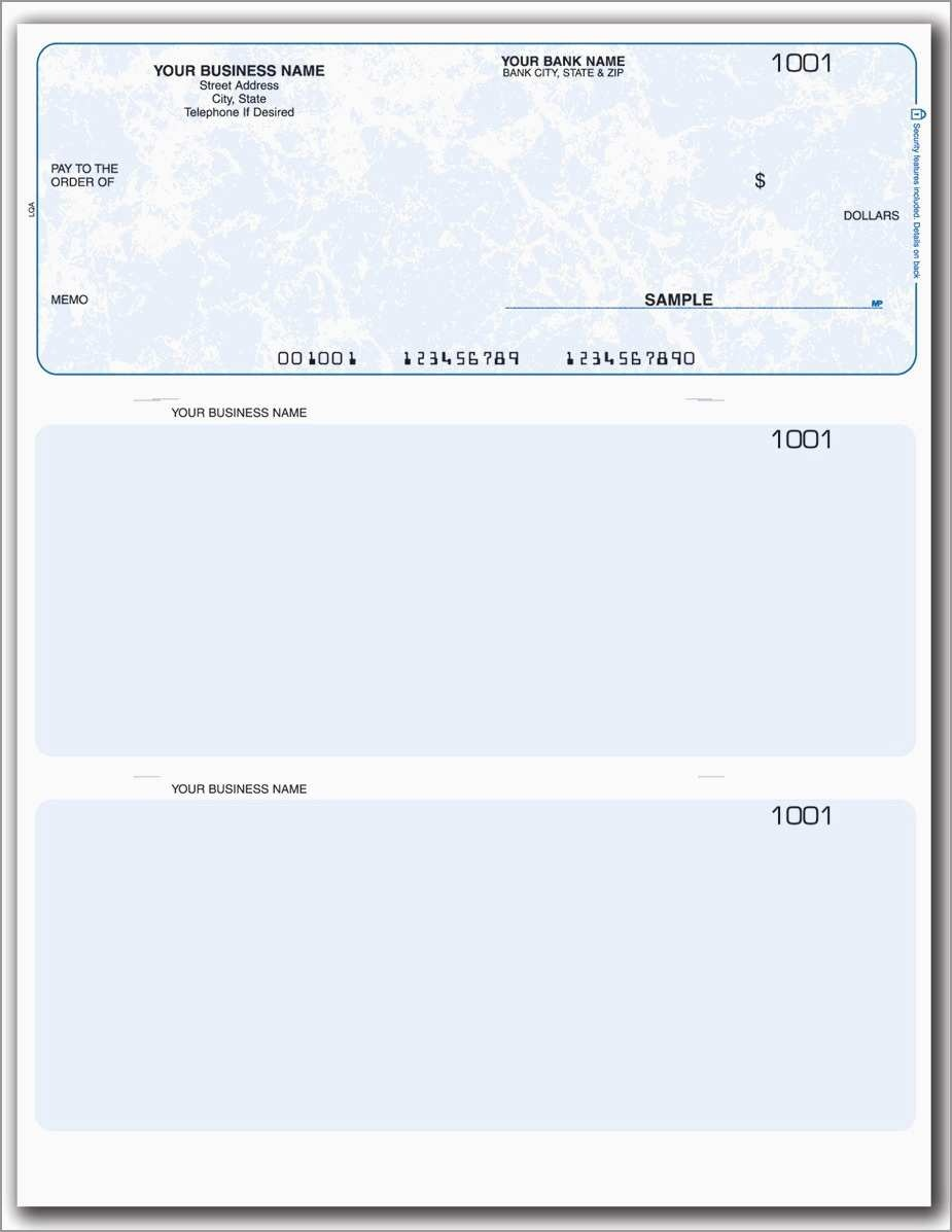 Fresh Free Blank Business Check Template | Best Of Template - Free Printable Blank Checks