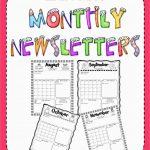 Fresh Free Printable Preschool Newsletter Templates | Best Of Template   Free Printable Preschool Newsletter Templates