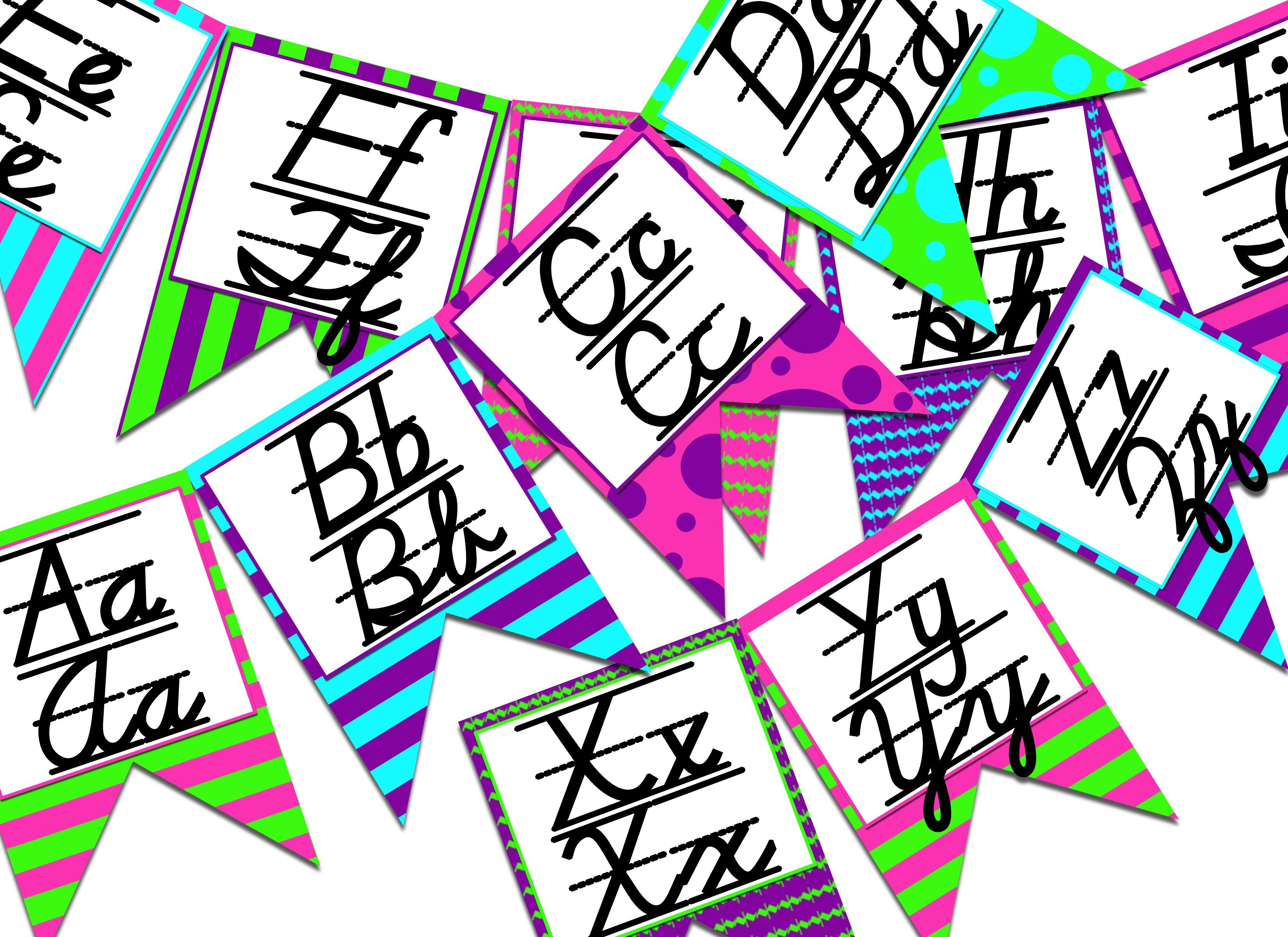 Fresh Printable Bulletin Board Letters   Www.pantry-Magic - Free Printable Bulletin Board Letters