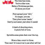 Fun Elf Idea: Magic Candy Cane Christmas Garden + Free Printable   Free Printable Candy Cane Poem