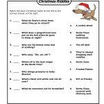 Funny Christmas Riddles   Christmas   Christmas Riddles, Christmas   Free Printable Christmas Riddle Games