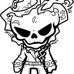 Ghost Rider Coloring Page | Boo In The Zoo Cut Out Ideas | Ghost   Free Printable Ghost Rider Coloring Pages