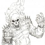 Ghost Rider Coloring Pages   Google Search | M F | Ghost Rider   Free Printable Ghost Rider Coloring Pages
