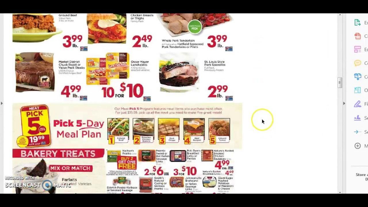 Giant Eagle Weekly Ad Matchups- 8/17-8/23- Free Tide, Free Pillsbury - Free Printable Giant Eagle Coupons