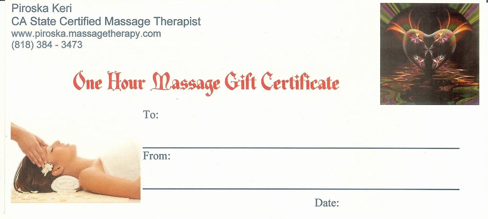 Gift Certificate Template Massage | Craigsbrother - Free Printable Gift Certificate Templates For Massage