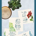 Gift   Page Of Joy Printables   Printable Bible Verses, Scripture   Free Printable Inspirational Bible Verses