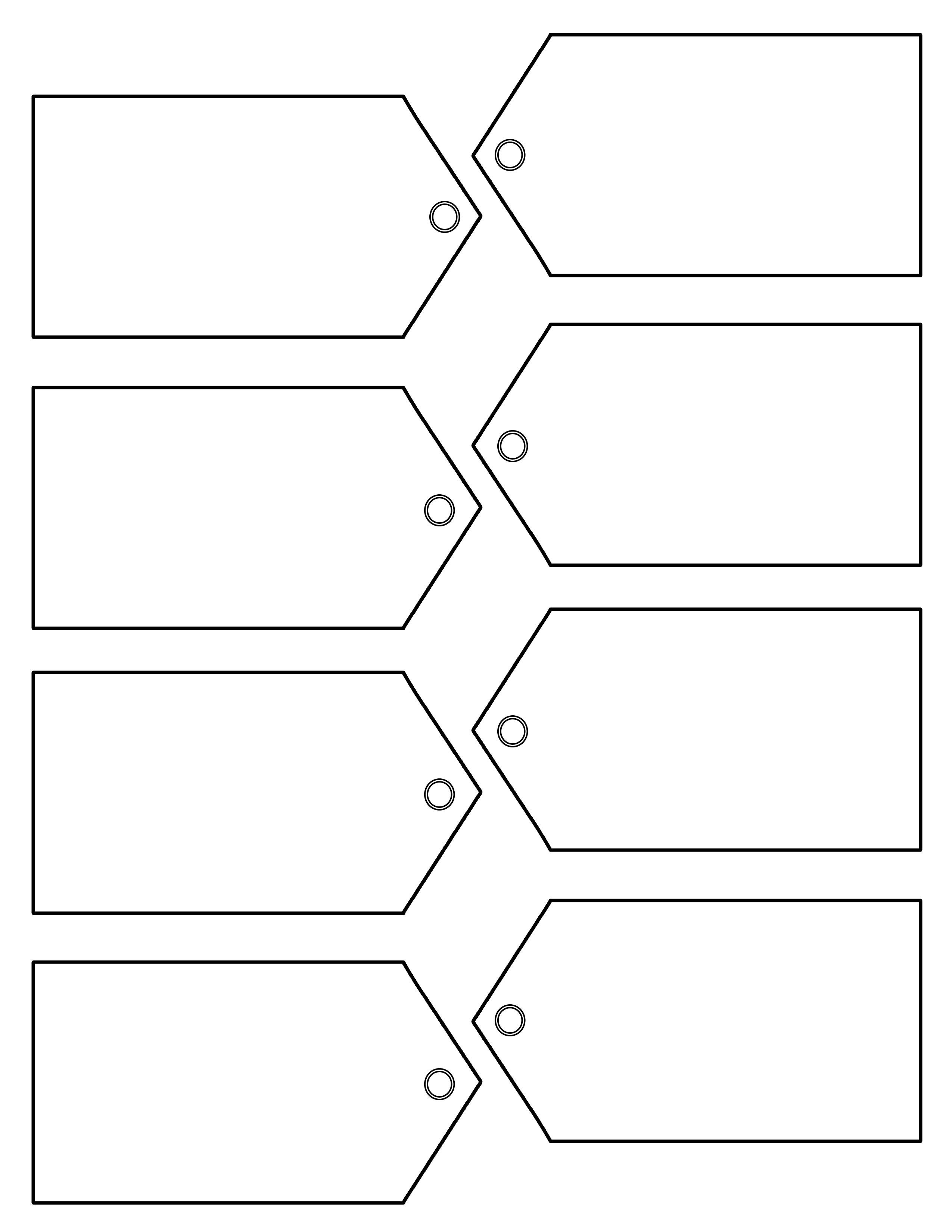 Gift Tag Download    You Could Use These Tags For A Number Of - Free Printable Blank Gift Tags