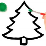 Glitter Christmas Tree Ornaments Coloring And Drawing For Kids   Free Printable Christmas Tree Ornaments To Color