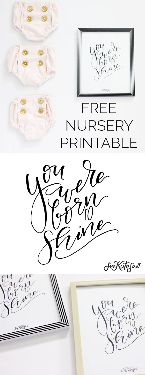 The Year You Were Born Printable Free