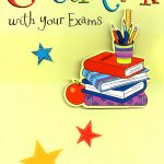 Good Luck With Your Exams Greeting Card | Cards   Free Printable Good Luck Cards