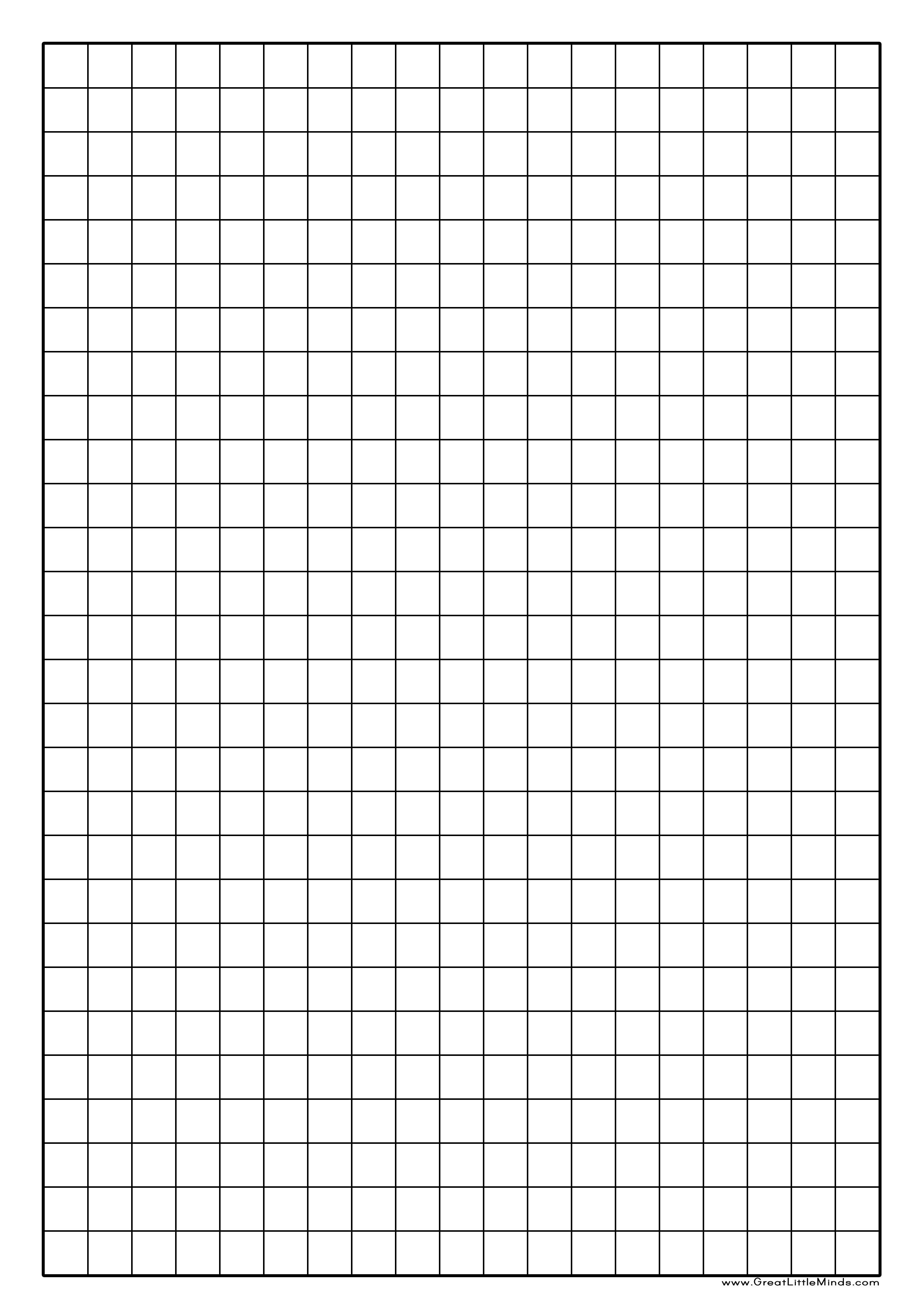 Graph Paper Printable   Click On The Image For A Pdf Version Which - Free Printable Grid Paper