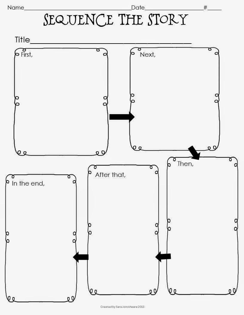 Graphic Organizer Freebie | Secondgradesquad | Classroom - Free Printable Sequence Of Events Graphic Organizer
