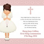 Great Holy Communion Invitation Templates Images Gallery. Baptism   Free Printable 1St Communion Invitations