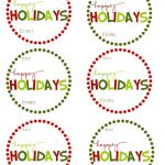 Great Ideas   22 Free Holiday Printables | Craft Time | Christmas   Free Printable Happy Holidays Gift Tags