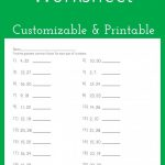 Greatest Common Factor Worksheet   Customizable And Printable | Math   Free Printable Lcm Worksheets