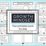 Growth Mindset For Kids Printable Book  Growth Mindset Activities   Free Printable Activities For 6 Year Olds