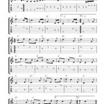 Guitar Music Sheets For Beginners | Free Guitar Tab Sheet Music   Free Printable Guitar Tabs For Beginners