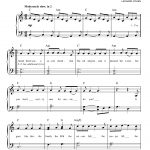 Hallelujahleonard Cohen Very Easy Piano Digital Sheet Music In   Hallelujah Piano Sheet Music Free Printable