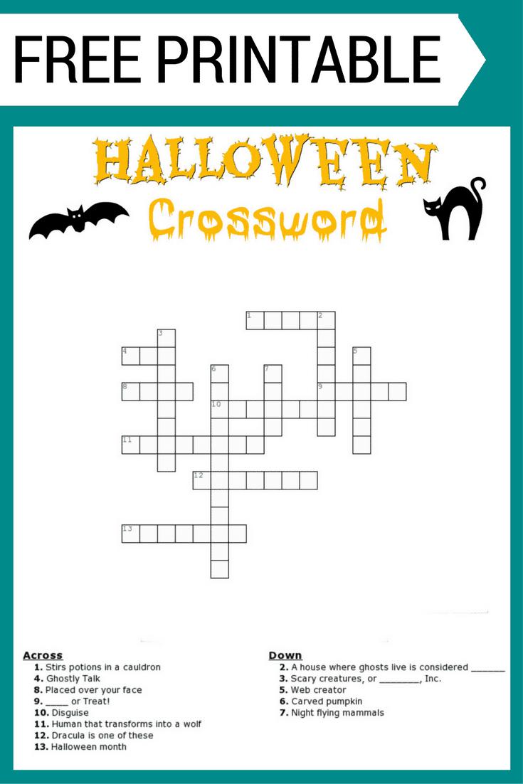 FREE PRINTABLE HALLOWEEN WORD - halloween word searches