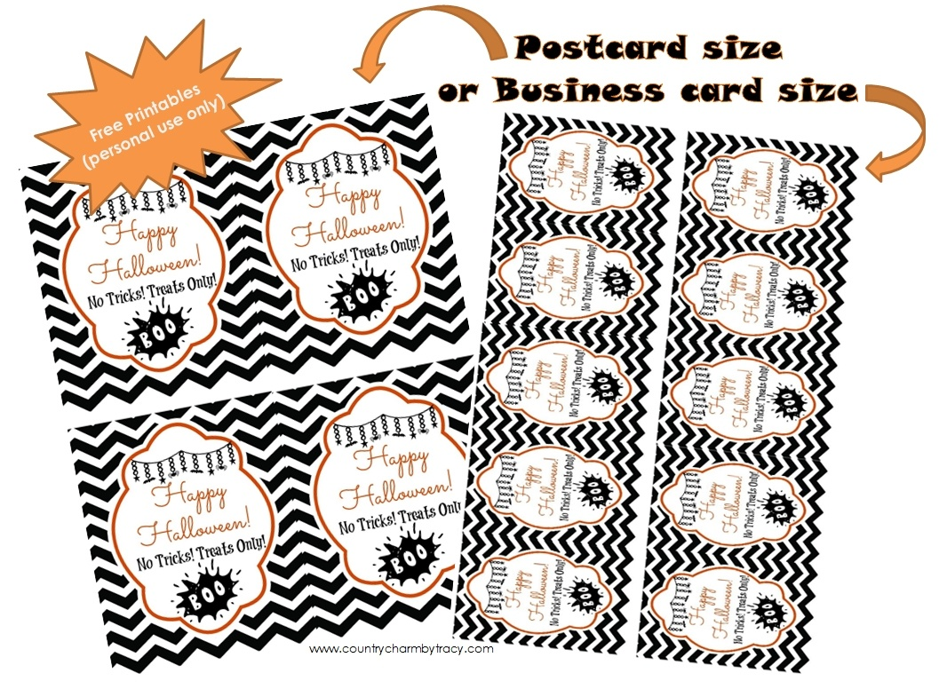 Halloween Tags {Free Printable} ~ {Country Charm}Tracy - Printable Halloween Cards To Color For Free