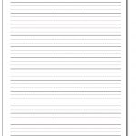 Handwriting Paper   Free Printable Writing Paper For Adults