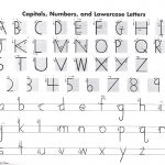 Handwriting Without Tears Letter Formation Charts  Manuscript   Handwriting Without Tears Worksheets Free Printable