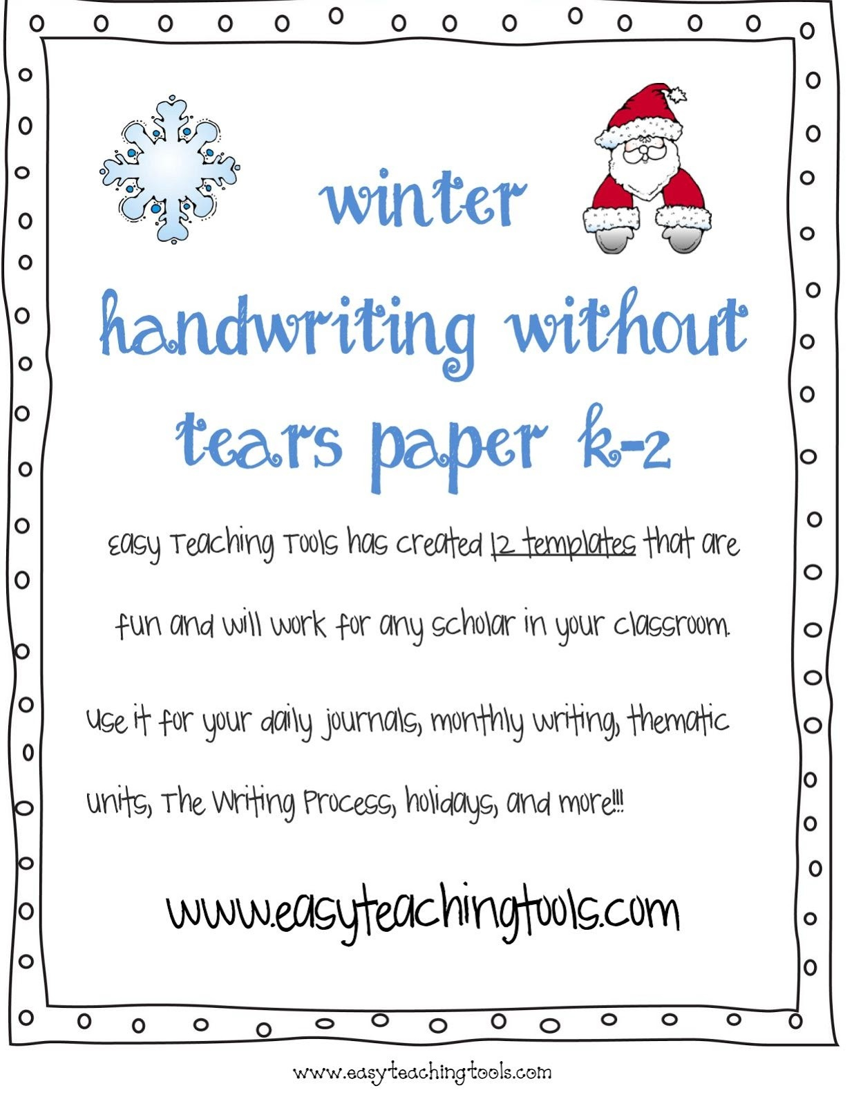 Handwriting Without Tears Writing Paper - Handwriting Without Tears Worksheets Free Printable
