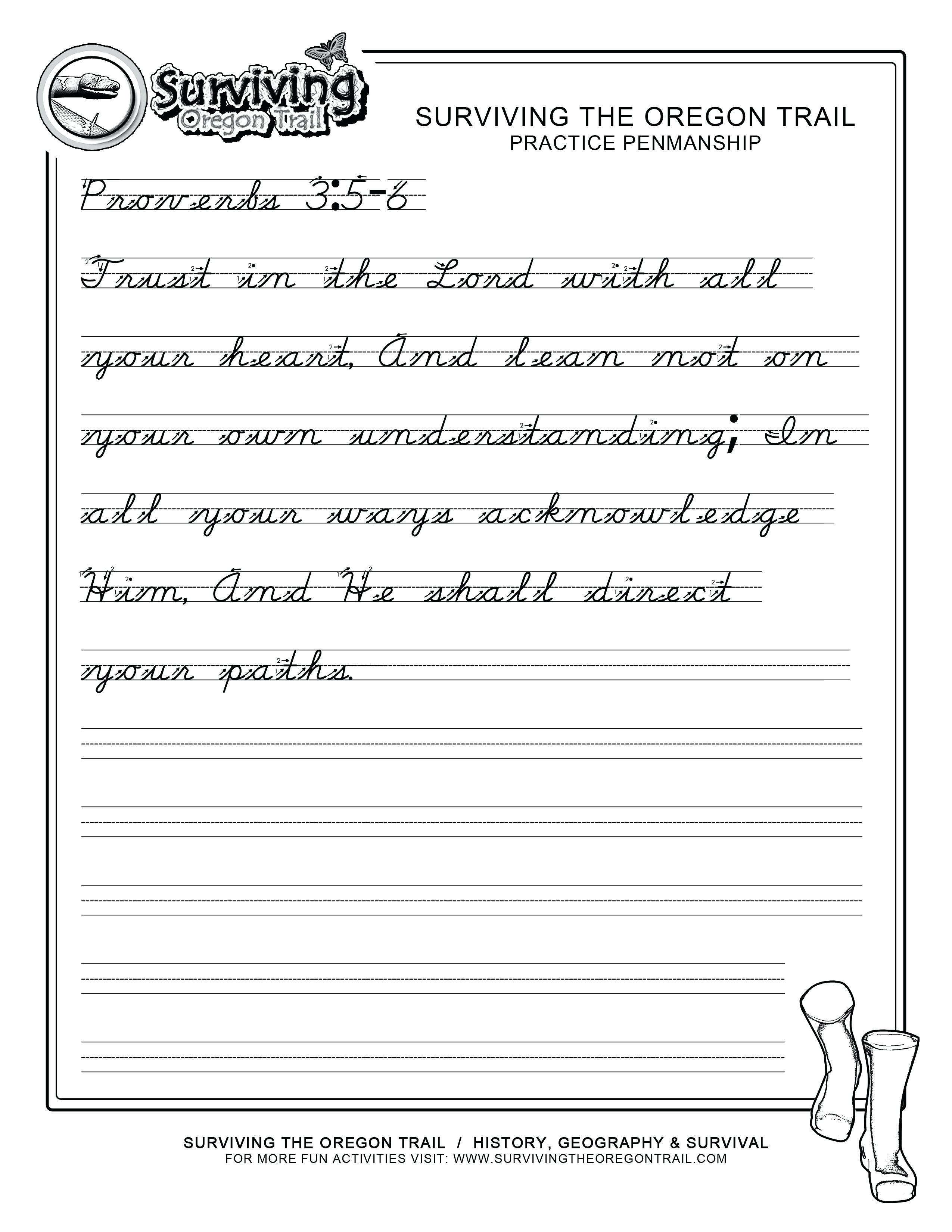 Handwriting Worksheet Alphabet Free Printable - Free Printable Script Writing Worksheets