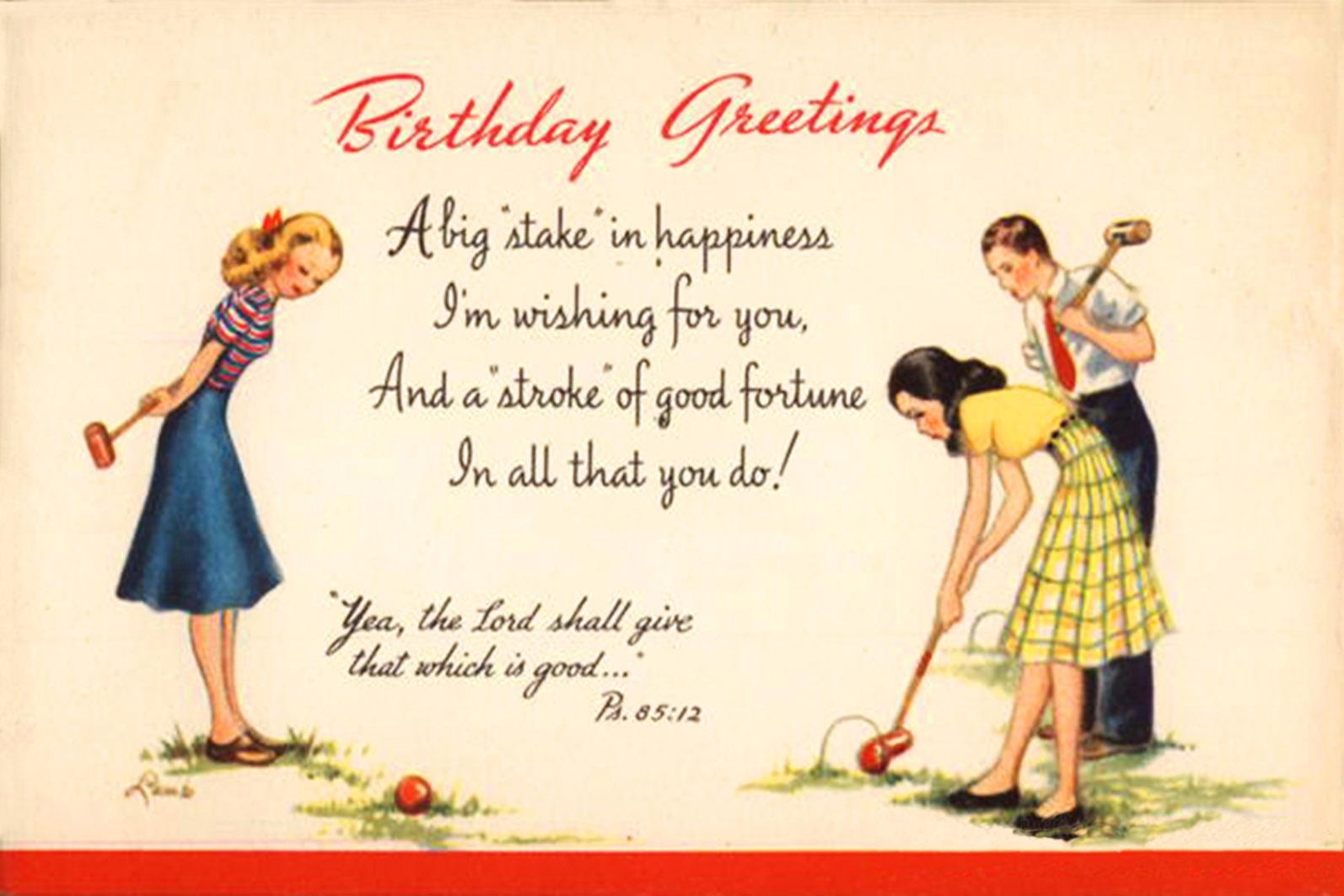 Happy Birthday Cards Free Printable — Birthday Invitation Examples - Free Printable 50Th Birthday Cards Funny