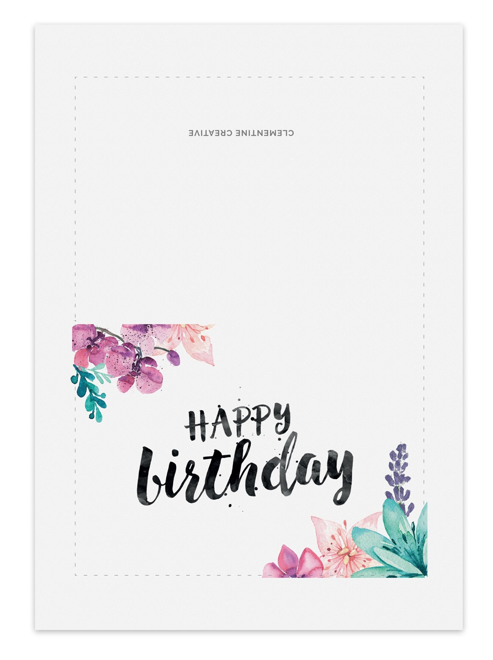 Happy Birthday Cards To Print Free — Birthday Invitation Examples - Free Online Printable Birthday Cards