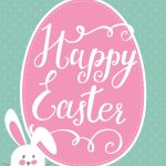 Happy Easter Bunny Printable | Holidays   Easter | Happy Easter   Free Printable Easter Images
