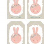 Happy Easter Free Printable Bunny Tags | Cute Printables | Easter   Free Printable Easter Tags
