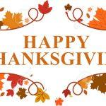 Happy Thanksgiving Banner 2018   Free Printable Calendar, Blank   Free Printable Happy Thanksgiving Banner