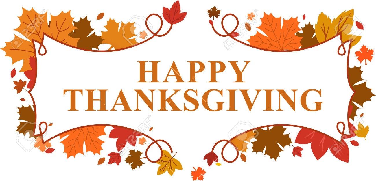Happy Thanksgiving Banner 2018 - Free Printable Calendar, Blank - Free Printable Happy Thanksgiving Banner