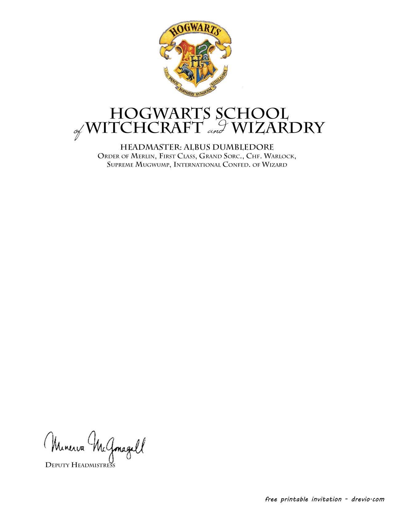 Harry Potter Birthday Invitations Printable -   Hosting A Harry - Harry Potter Birthday Invitations Free Printable