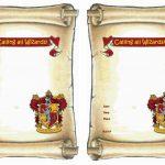 Harry Potter Free Printable Birthday Party Invitations   Birthday   Harry Potter Birthday Invitations Free Printable
