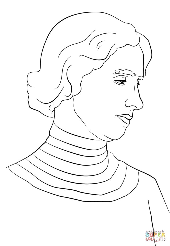 Helen Keller Coloring Page   Free Printable Coloring Pages - Free Printable Pictures Of Helen Keller