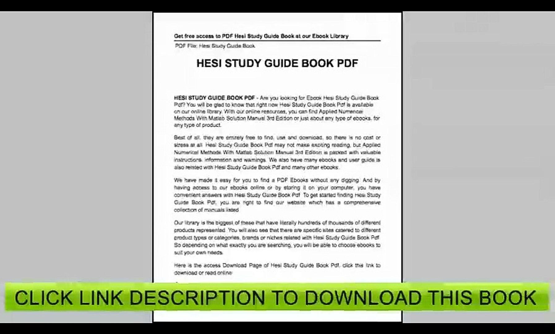 Hesi Study Guide Free - Free Printable Hesi Study Guide   Free - Free Printable Hesi Study Guide