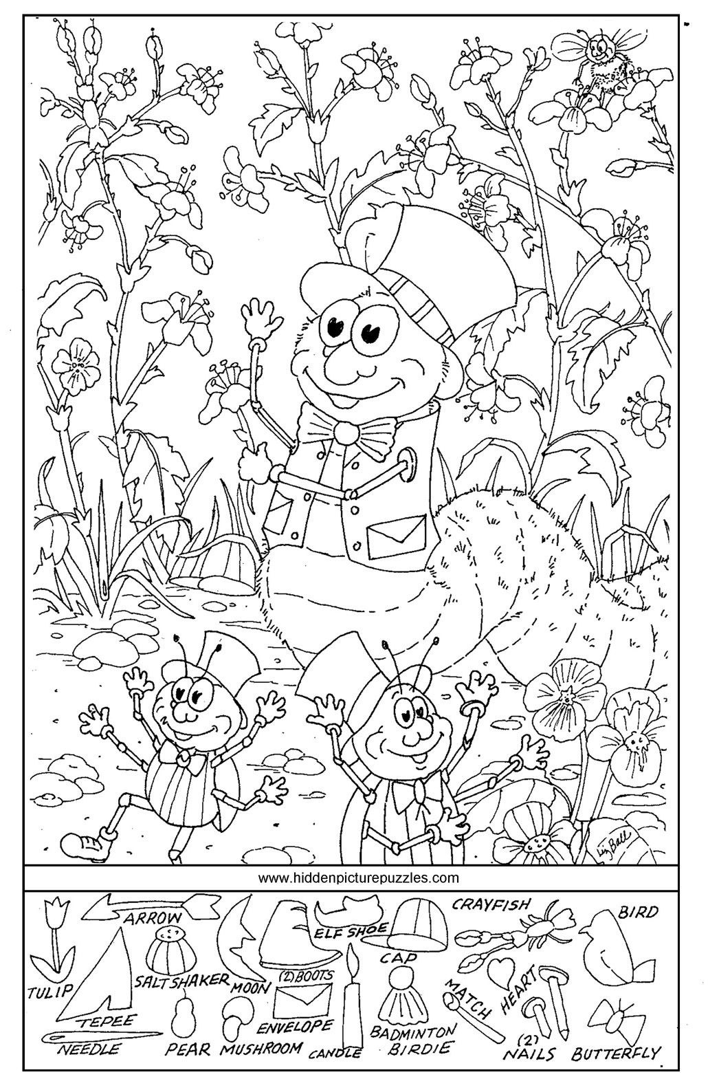 Hidden Pictures Page - Print Your Free Hidden Pictures Page At - Free Printable Hidden Pictures For Kids