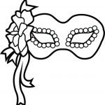 Homey Idea Coloring Pages Free Printable Charming Decoration For In   Free Printable Mardi Gras Masks