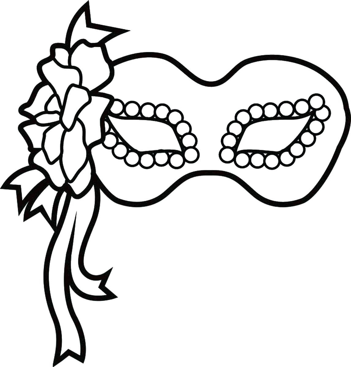 Homey Idea Coloring Pages Free Printable Charming Decoration For In - Free Printable Mardi Gras Masks