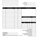 Hoover Receipts | Free Printable Service Invoice Template   Pdf   Free Printable Blank Invoice