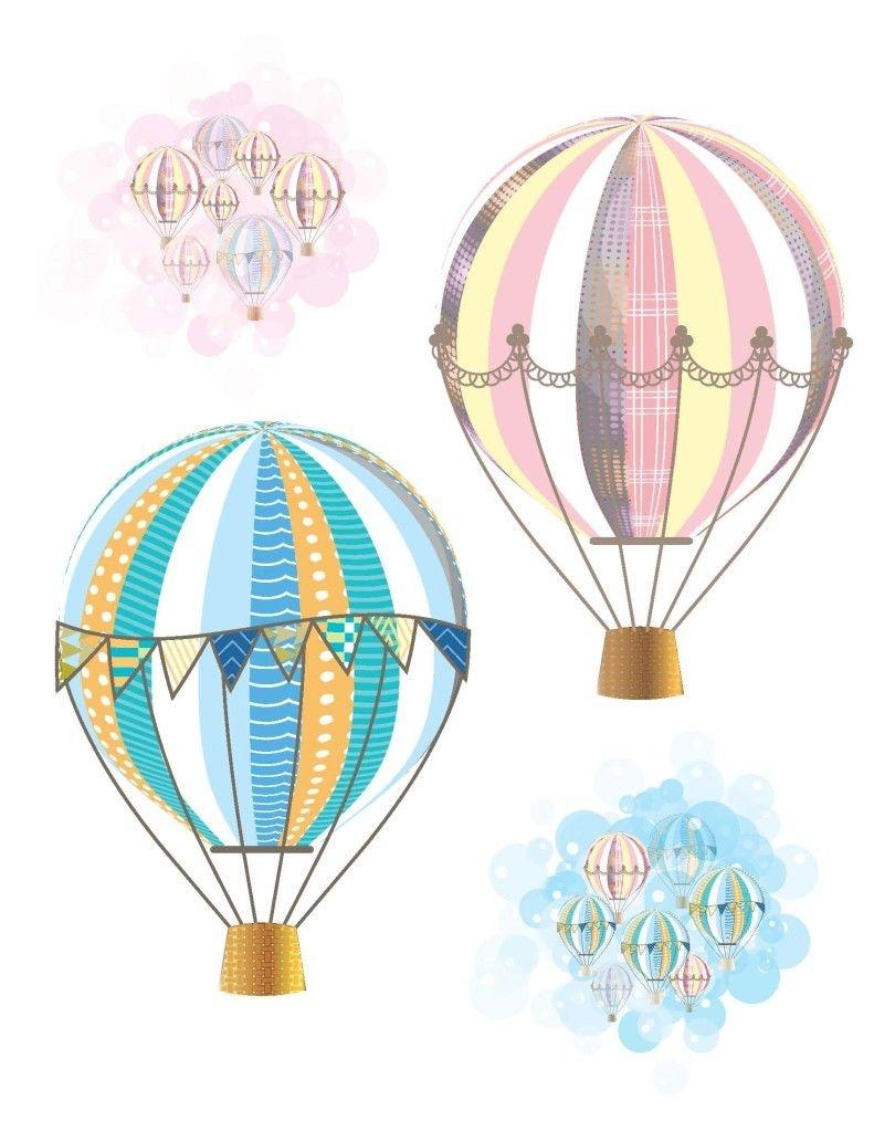 Hot Air Balloon Party Free Printables   Baby   Baby Shower Balloons - Free Printable Pictures Of Balloons