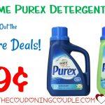 Hot** Purex Detergent Coupon + Drugstore Deals = $0.99 Each!   Free Printable Purex Detergent Coupons