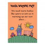 Housewarming Invite Template Tanveer Pinterest House Warming Free - Free Printable Housewarming Invitations Cards