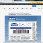 How To Get A Free Lowes 10% Off Coupon   Email Delivery   Youtube   Lowes Coupon Printable Free