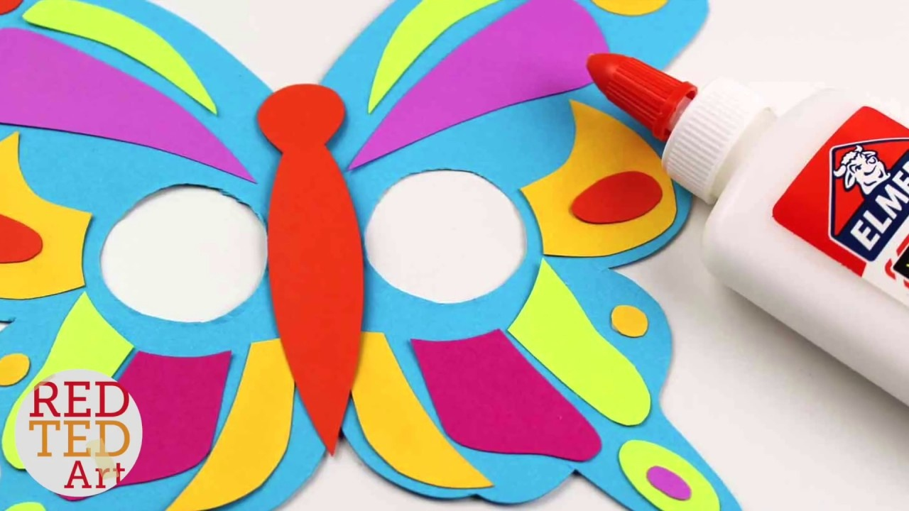 How To Make A Butterfly Masks - Free Printable Butterfly Mask Diy - Free Printable Paper Masks