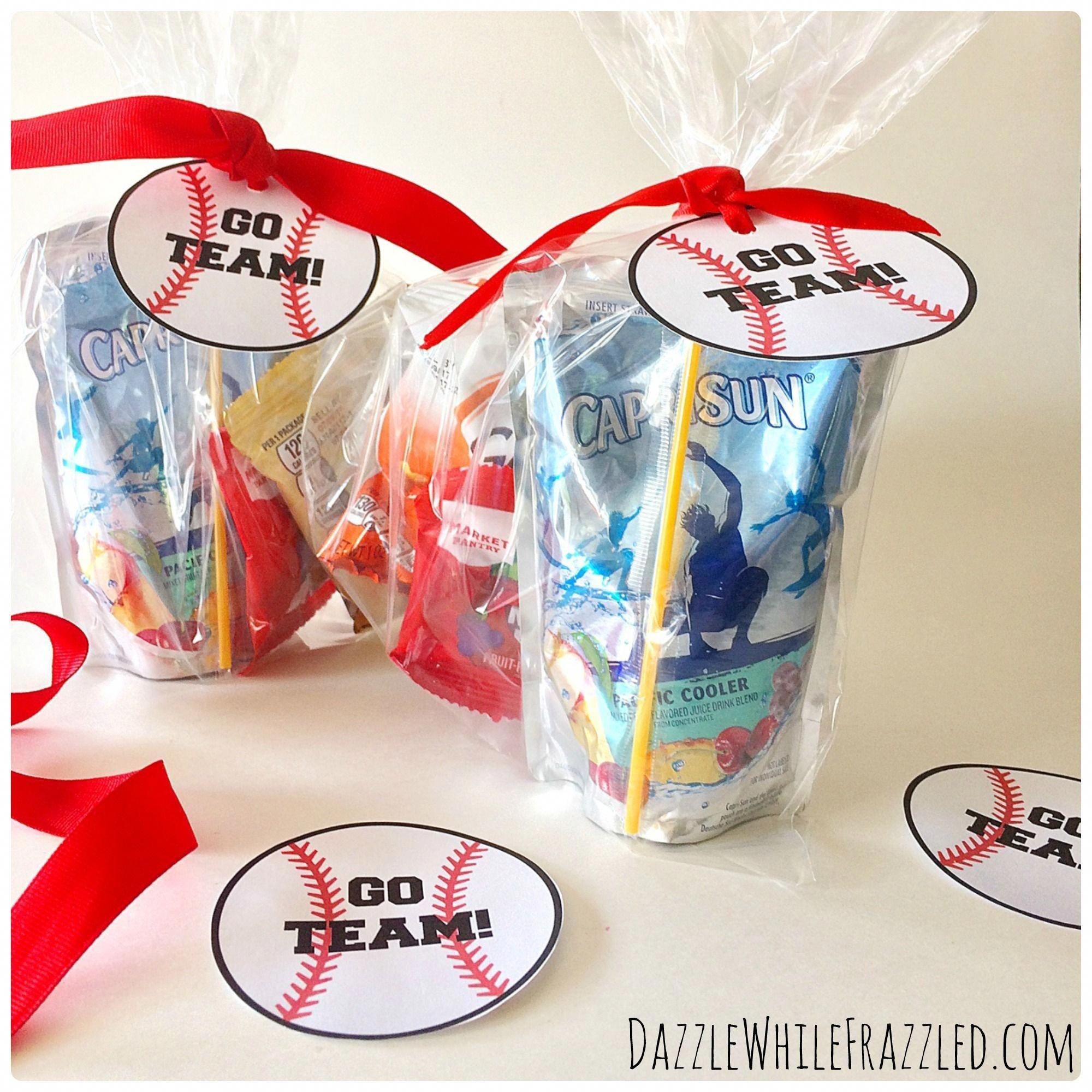 How To Make Printable Tags For Baseball Snack Bags   Sports Mom - Free Printable Baseball Favor Tags