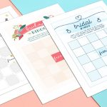 How To Play Bridal Shower Bingo (With Printables) | Shutterfly   Free Printable Bridal Shower Bingo